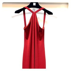 Laundry Red Gown
